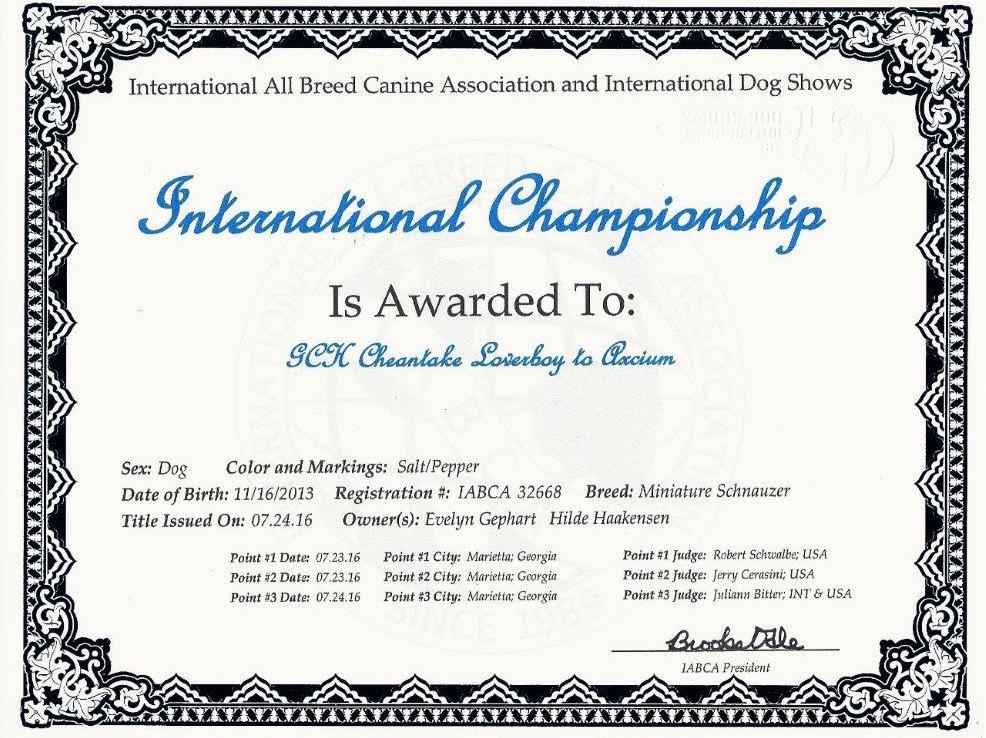 IABCA diploma